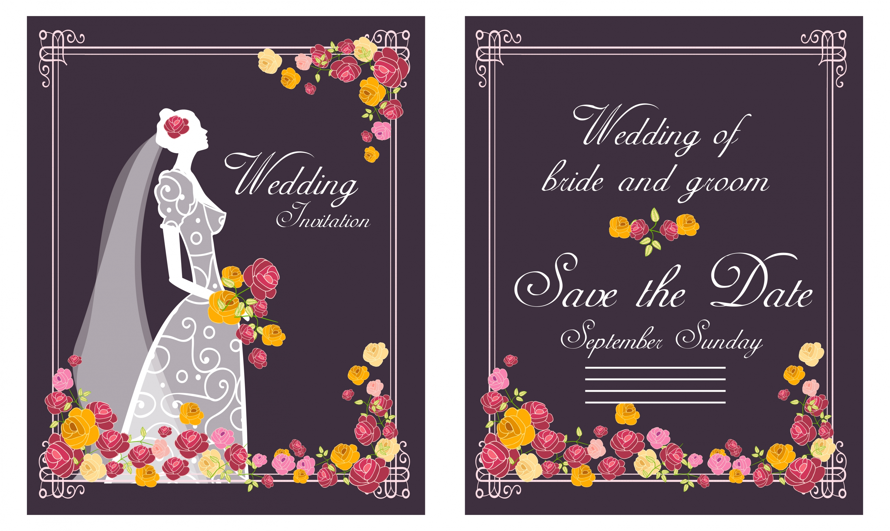 Wedding invitation 01