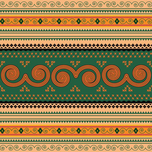 Thailand Traditional Patterns2